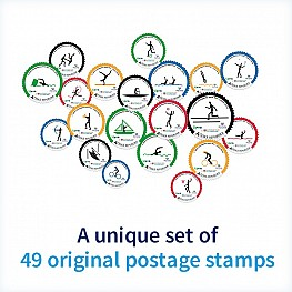Original postage stamps