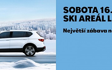 SEAT Winter Beats ve Skiareálu Lipno