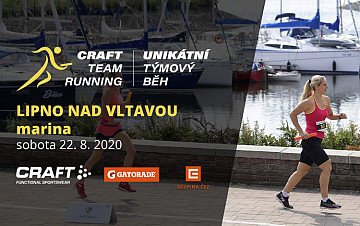 Craft team running na Lipně