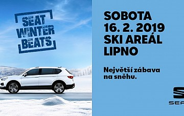 SEAT Winter Beats 16.2. ve Skiareálu Lipno