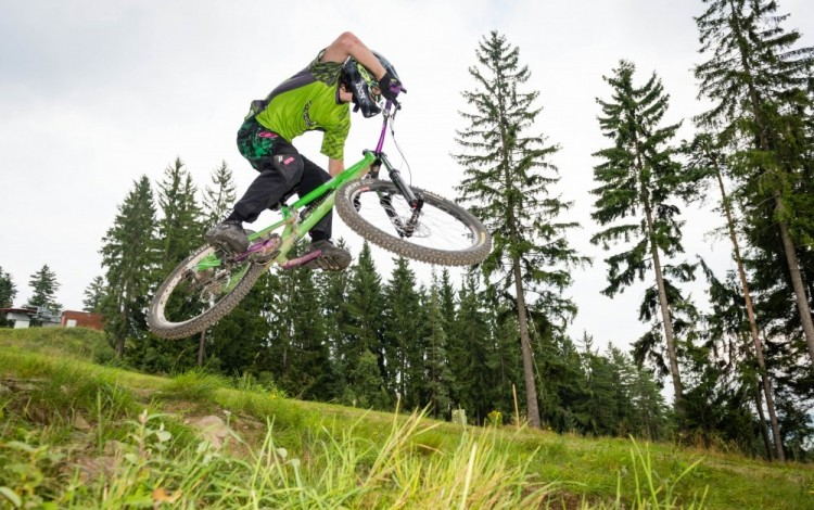Discover the magic of Bikepark Lipno