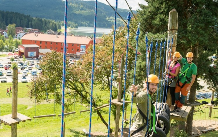 Company events at Lipno have zest