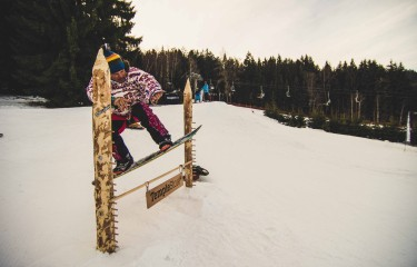 Temple Snowboard Days - Banked slalom / 4.2.2017