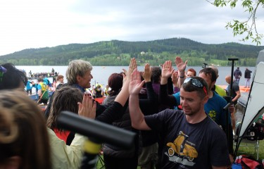 The opening of the summer season and Dragon boat races