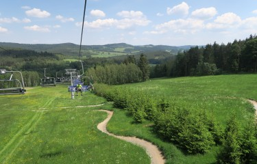 Spring at the Lipno