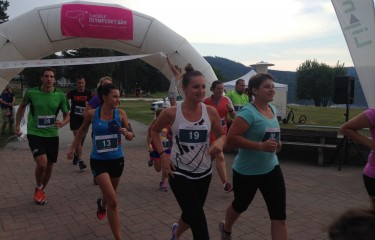 T-Mobile Olympic run at Lipno