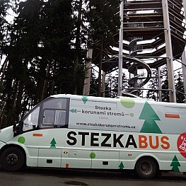 Lipno Tree Top Walkway Bus