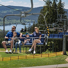 Lipno Expres and Promenádní chairlifts