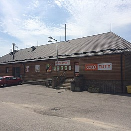 COOP TUTY – Jednota shop Lipno nad Vltavou, next to Czech Post