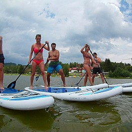 Summer course - paddleboarding