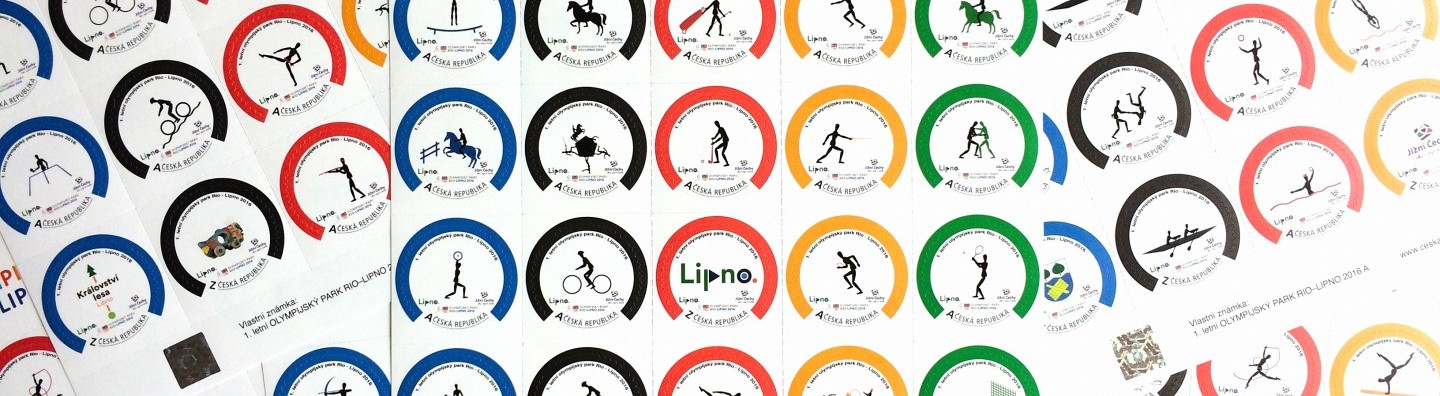 Unique postage stamps 1st Summer Olympic Park 2016
